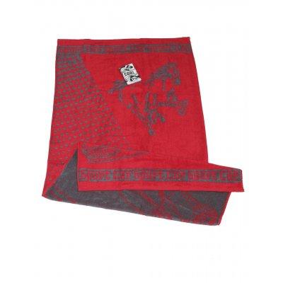 Полотенце махровое Cool, 50х90 см, дизайн Sport car красный