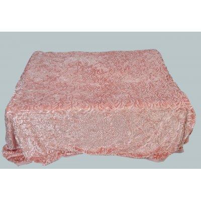 Покрывало-одеяло выбитое эвро размера - Код 4-37