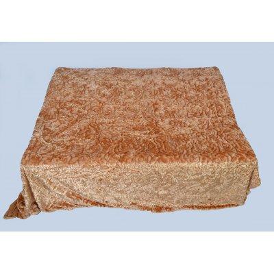 Покрывало-одеяло выбитое эвро размера - Код 4-40