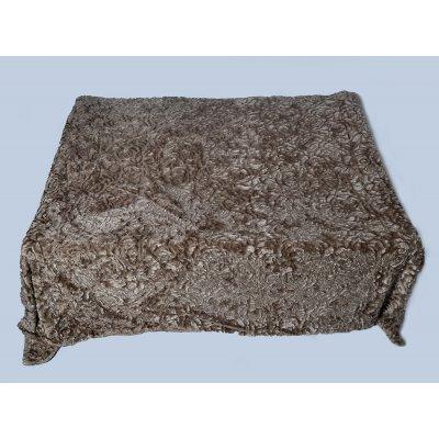 Покрывало-одеяло выбитое эвро размера - Код 4-42