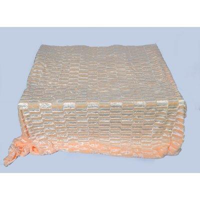 Покрывало-одеяло выбитое эвро размера - Код 4-31
