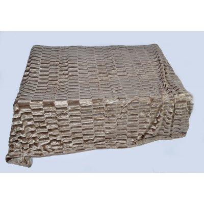 Покрывало-одеяло выбитое эвро размера - Код 4-32