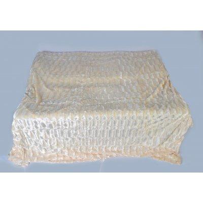 Покрывало-одеяло выбитое эвро размера - Код 4-33