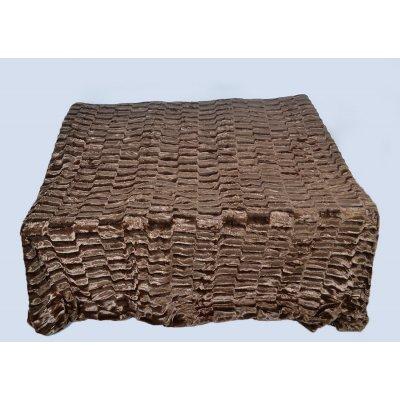 Покрывало-одеяло выбитое эвро размера - Код 4-35