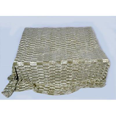 Покрывало-одеяло выбитое эвро размера - Код 4-36
