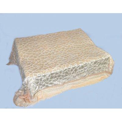 Покрывало-одеяло выбитое двустороннее эвро размера - Код 4-46