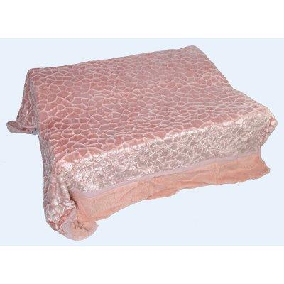 Покрывало-одеяло выбитое двустороннее эвро размера - Код 4-47