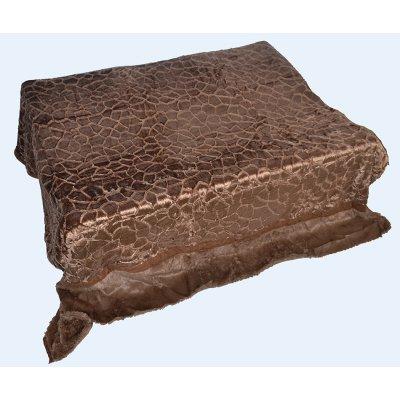 Покрывало-одеяло выбитое двустороннее эвро размера - Код 4-48