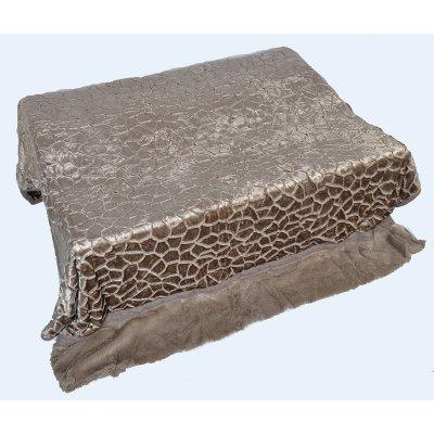 Покрывало-одеяло выбитое двустороннее эвро размера - Код 4-49