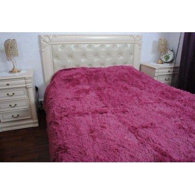 Покрывало на кровать травка, Евро 220х240 - Цвет коралловый