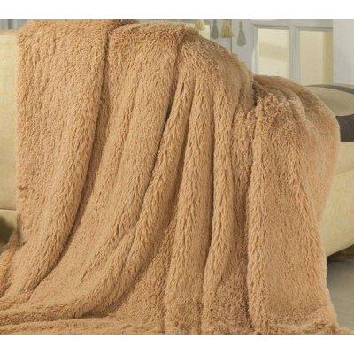 Покрывало на кровать травка, Евро 220х240 - Цвет песочный