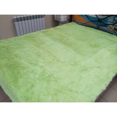 Покрывало на кровать травка, Евро 220х240 - Цвет салатовый