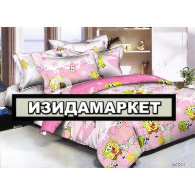 Полуторное постельное белье бязь Ранфорс - pbr-11