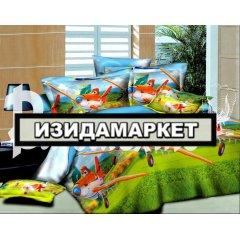 Полуторное постельное белье бязь Ранфорс - pbr-14