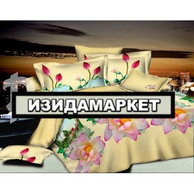 Полуторное постельное белье бязь Ранфорс - pbr-18