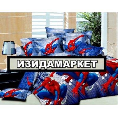 Полуторное постельное белье бязь Ранфорс - pbr-35