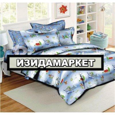 Полуторное постельное белье бязь Ранфорс - pbr-93