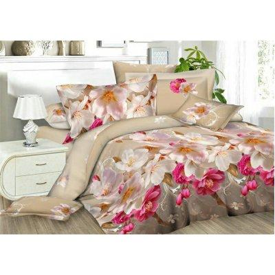 Полуторное постельное белье бязь Ранфорс - pbr-113