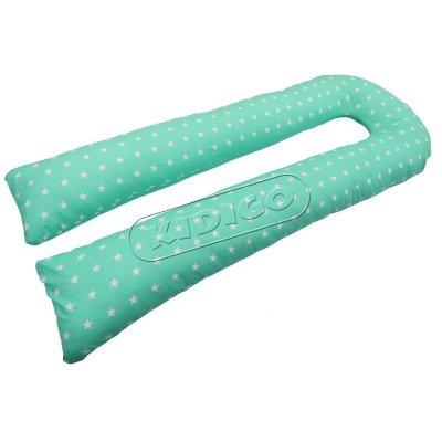Подушка для беременных U образная Звездочки (с наволочкой)