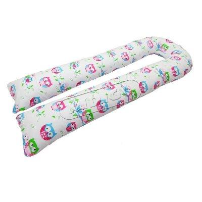 Подушка для беременных U образная Совушки (с наволочкой)