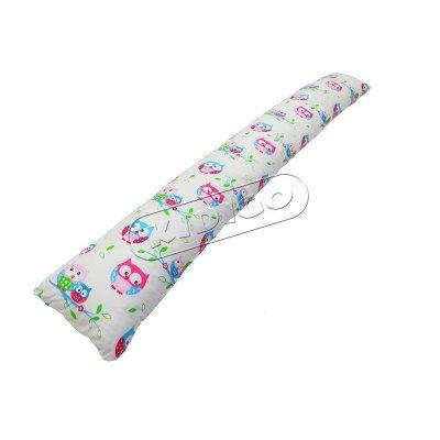 Подушка для беременных «I» образная прямая (с наволочкой) - Совушки