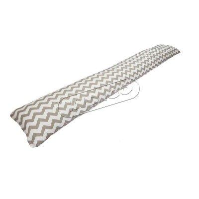 Подушка для беременных «I» образная прямая (с наволочкой) - Зигзаг