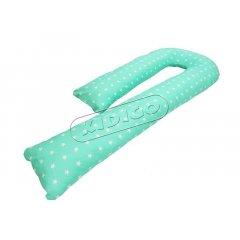 Подушка для беременных «J» образная (с наволочкой) - Звездочки