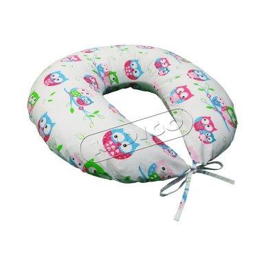 Подушка для кормления с наволочкой - Совы