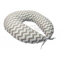 Подушка для кормления с наволочкой - Зигзаг
