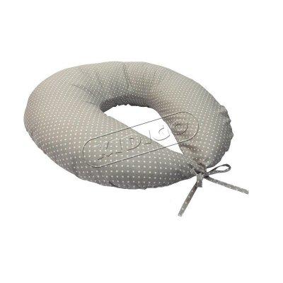 Подушка для кормления с наволочкой - Горошек