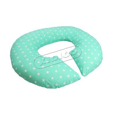 Подушка для беременных «Рогалик» с наволочкой - Звездочки