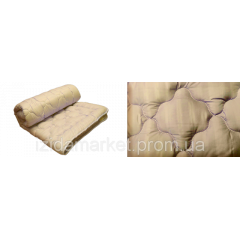 Однотонное силиконовое одеяло - ткань микрофибра