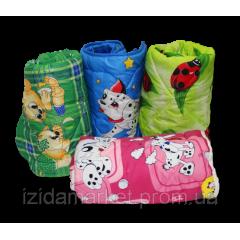 Детские одеяла силиконовые ткань полиэстер