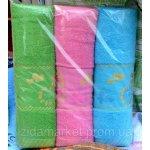 Венгерское банное полотенце разных цветов