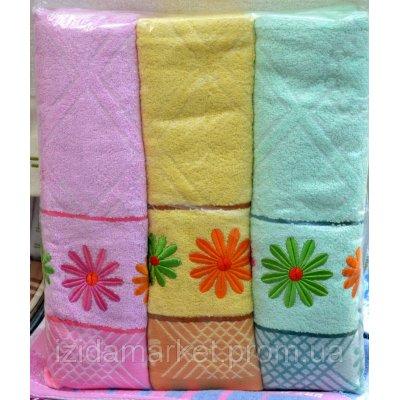 Банное полотенце ромашка