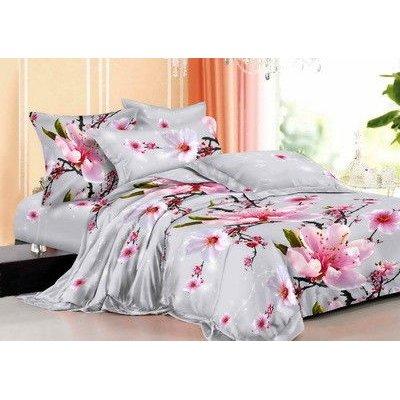 Семейное постельное белье - Нежный сон 2 - Сатин Люкс коллекция 2014