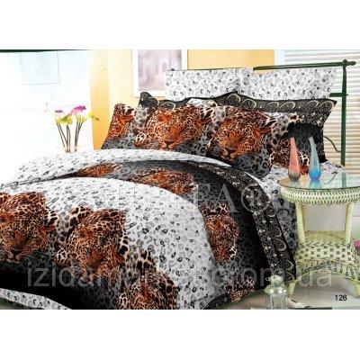 Семейное постельное белье - Леопард -Поплин фирмы Вилюта