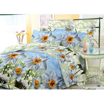 Семейное постельное белье - Утренние цветы -Поплин фирмы Вилюта
