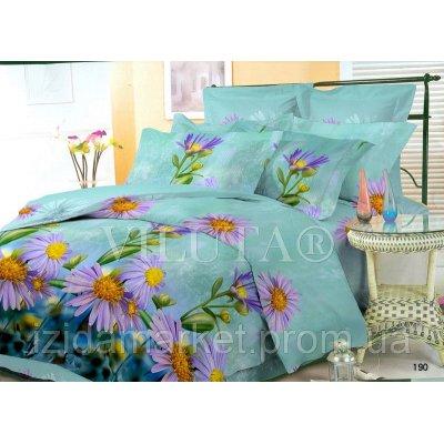 Семейное постельное белье - Ромашки -Поплин фирмы Вилюта