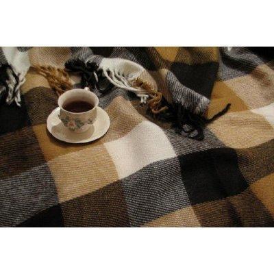Плед Лион Эконом коллекция - Полуторный (кофе)