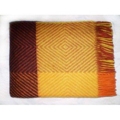 Плед Скиф Элитная коллекция - Двухспальный (коричневый)