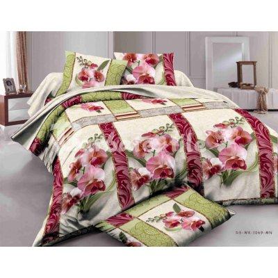 Полуторное постельное белье бязь Ранфорс - pbr-97