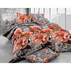 Двуспальное постельное белье бязь Ранфорс - pbr-70