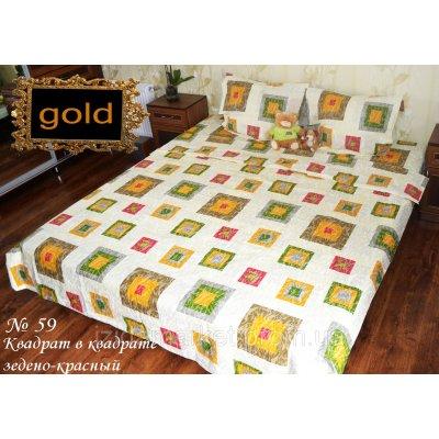 Мрамор - Двуспальное постельное белье бязь gold