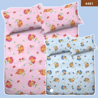 Детское постельное белье Ранфорс фирмы Вилюта - 4481