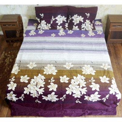Двуспальное постельное белье  Бязь Голд - Камелия