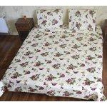 Двуспальное постельное белье  Бязь Голд - Роза бабочка (классика)