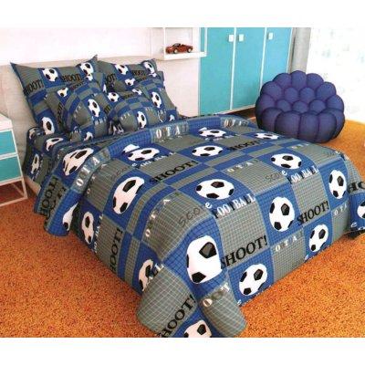 Детская Бязь Ranforse - Мяч на синем поле