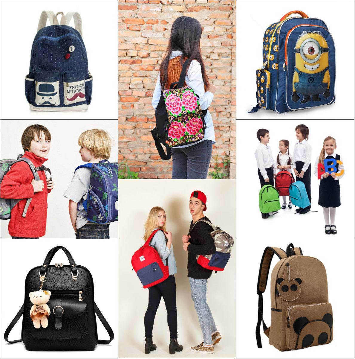 Где можно купить модный школьный рюкзак рюкзак с принтом funny owls